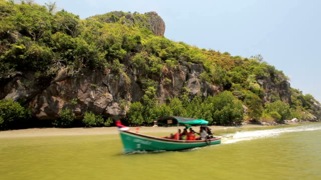 Fisherman village in pranburi, Thailand