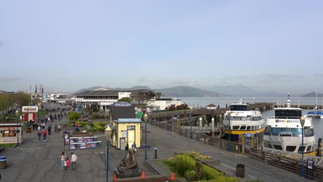stockvideo's en b-roll-footage met fisherman's wharf - san francisco - pier 39