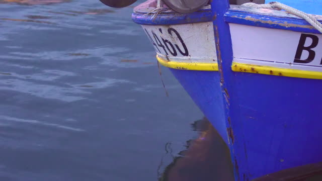 fishing boat. ajaccio port, corsica - calvi stock videos and b-roll footage