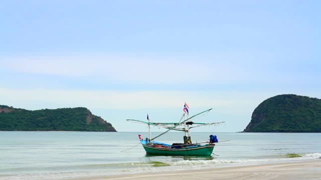Fishing boat at beach