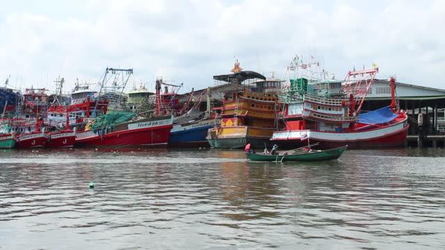 Fishing boat at port