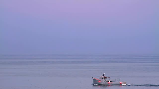 Fischerboot auf das Meer