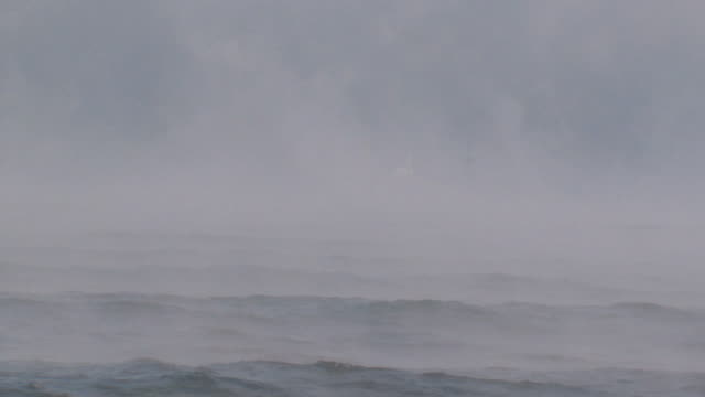 fishing boat in thick fog - terrified stock videos & royalty-free footage