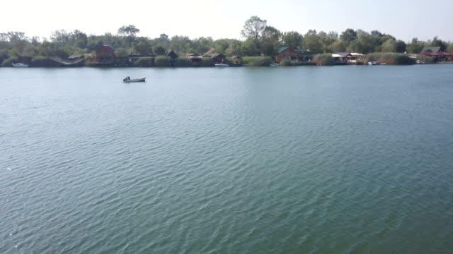 Fishing Boat On Bojana River