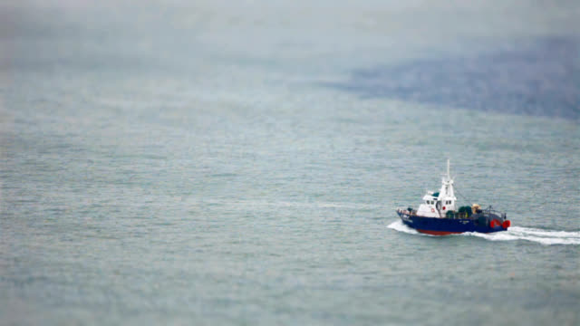 Fishing Boat passing by