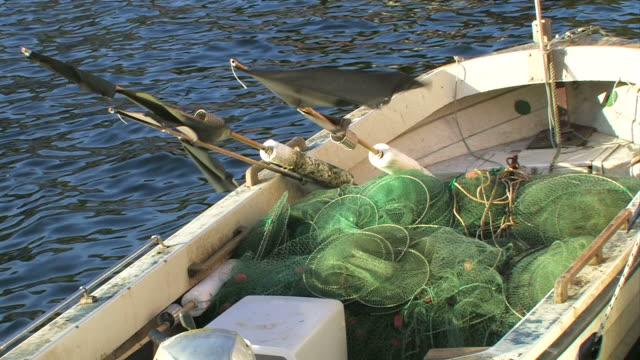 fischerboote - ostsee stock-videos und b-roll-filmmaterial