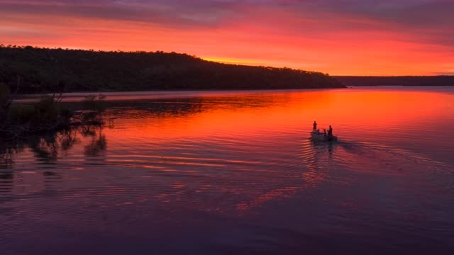 fishing in the kimberley, western australia - outback stock videos & royalty-free footage