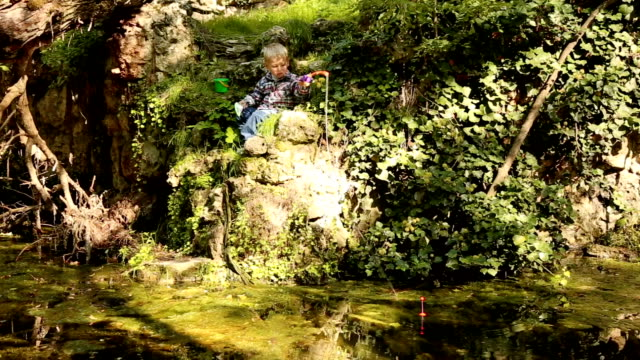 fishing in the old pond