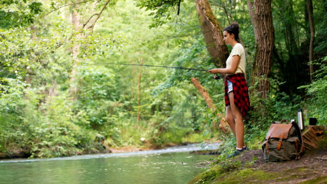fishing is a way of life - packed lunch stock videos & royalty-free footage