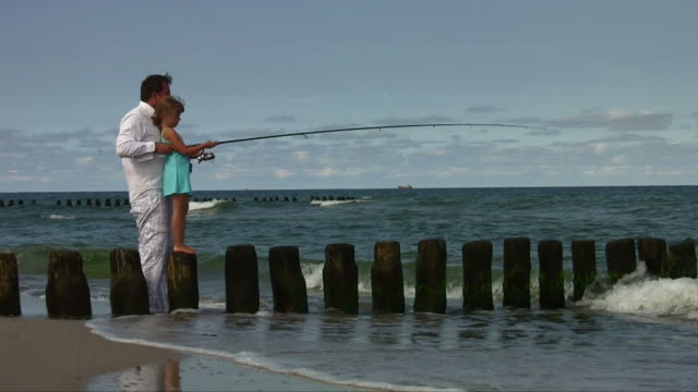 fishing - fishing reel stock videos and b-roll footage