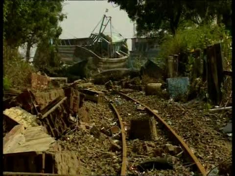 fishing village devastated by tsunami naggaputanam 2004 - 2004 stock videos & royalty-free footage