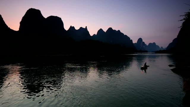 Fishman in Lijiang River