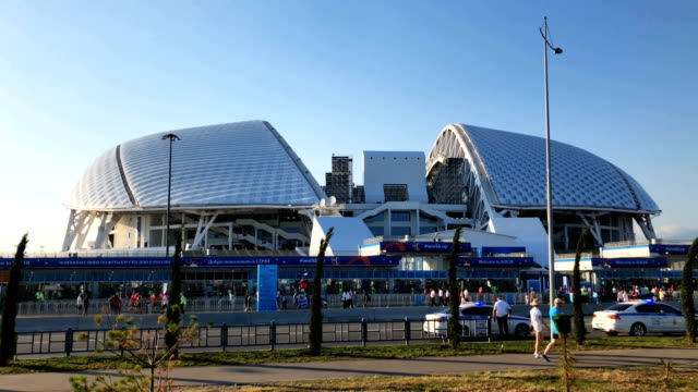 Fisht Stadium general Views during the 2018 FIFA World Cup Russia Round of 16 match between Uruguay and Portugal at Fisht Stadium on June 30 2018 in...
