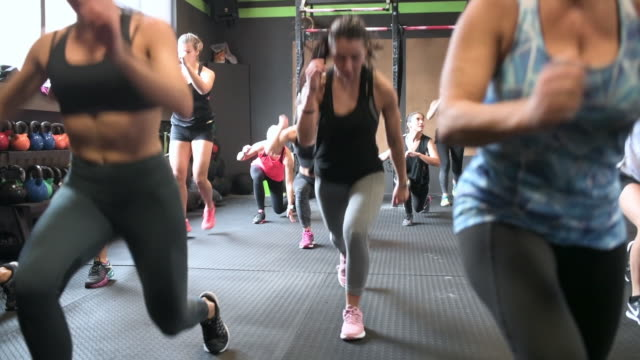 fitness class - 18 19 years stock videos & royalty-free footage