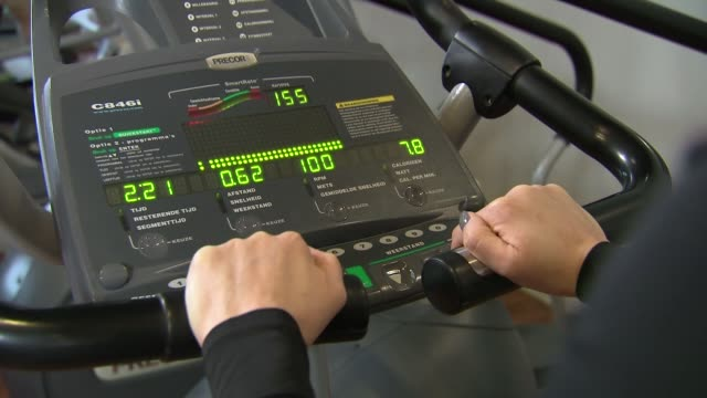 fitness club equipment - exercise machine stock videos & royalty-free footage