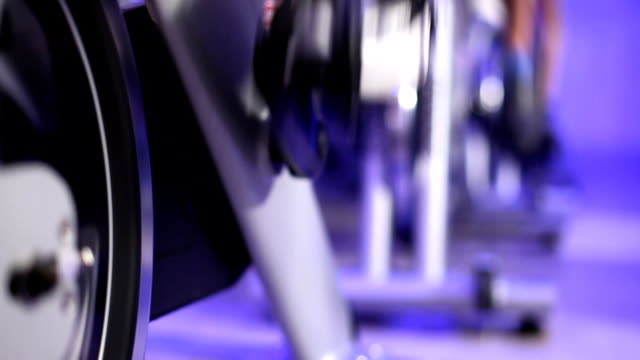 Fitness: Spinning class