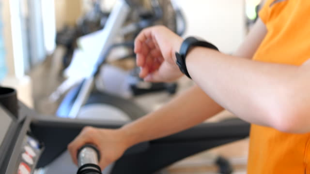 fitness tracker - fitness tracker stock videos and b-roll footage