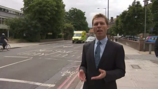Five hurt in spate of acid attacks in North London DAY Reporter to camera Road sign 'Warwick Grove' Traffic along road Commissioner Cressida Dick...