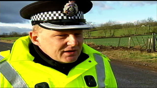 five people killed in road crash in perthshire inspector ken brown interview sot describes crash - perthshire stock videos & royalty-free footage