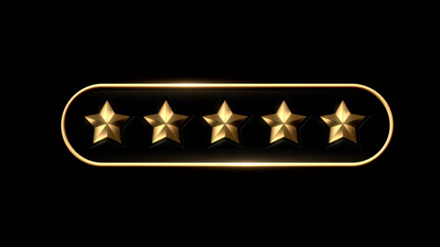 five star rating - number 5 stock videos & royalty-free footage