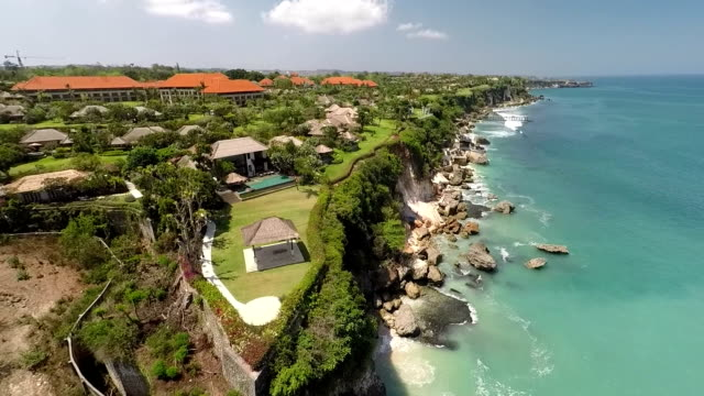 a five stars resort in bali, revealing - bali stock videos & royalty-free footage