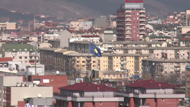 stockvideo's en b-roll-footage met five years after breaking from serbia kosovo is yet to win the ultimate recognition a seat at the united nations hopefully as a final result of the... - kosovo