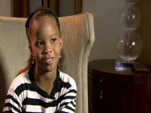 Five years old actress Quvenzhane Wallis comments on her success