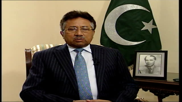 five years on since the fall of kabul to the northern alliance; general pervez musharraf 2-way interview from islamabad sot - on how there is... - kabul stock videos & royalty-free footage