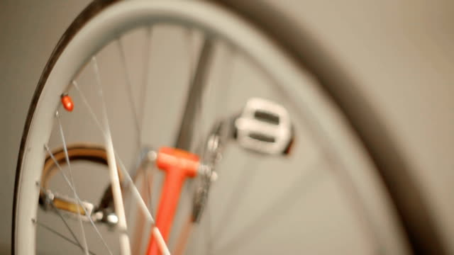 fixed gear abstract detail