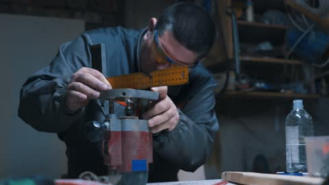fixing his work tool device - work tool stock videos & royalty-free footage
