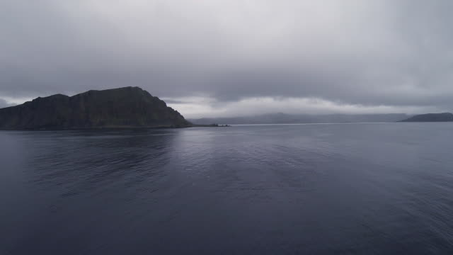 fjord from norwegian ship - nordland county stock videos & royalty-free footage