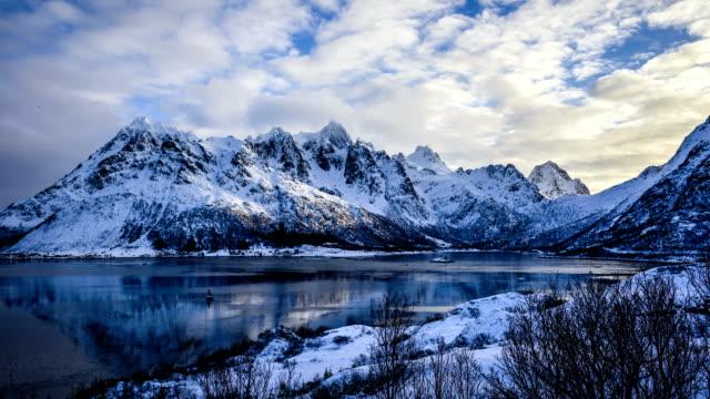 Fiordo della Norvegia-Time lapse