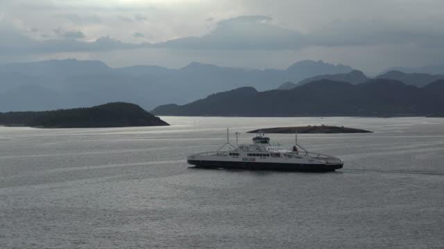 fjord near stavanger, rogaland, norway, scandinavia, europe - stavanger stock videos & royalty-free footage