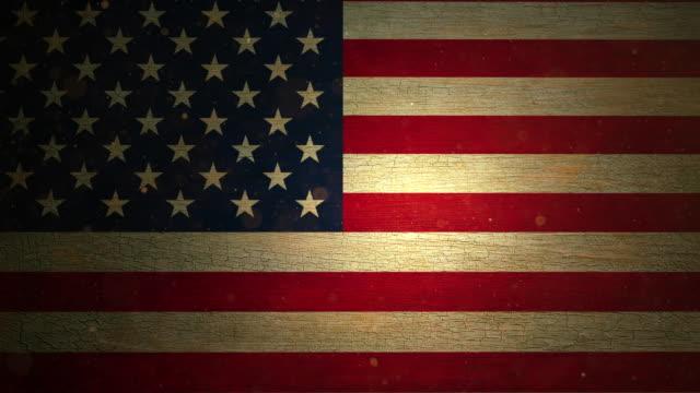 USA Flag - Grunge. 4k