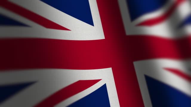 uk flagg - grunge. - brittiska flaggan bildbanksvideor och videomaterial från bakom kulisserna