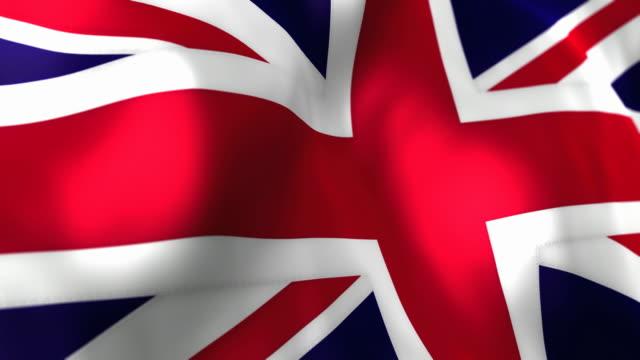 UK Flag High Detail - Looping