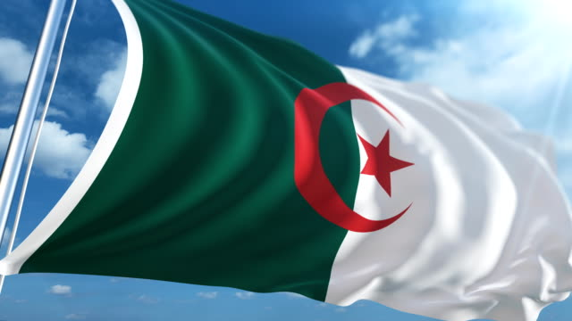 Flag of Algeria | Loopable