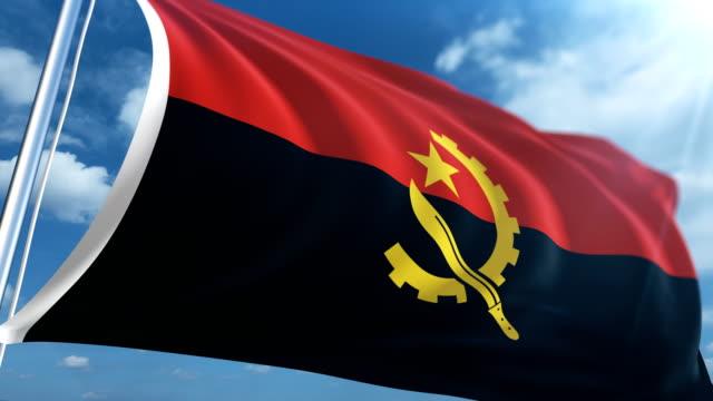 Flag of Angola | Loopable