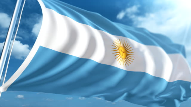 Flag of Argentina | Loopable