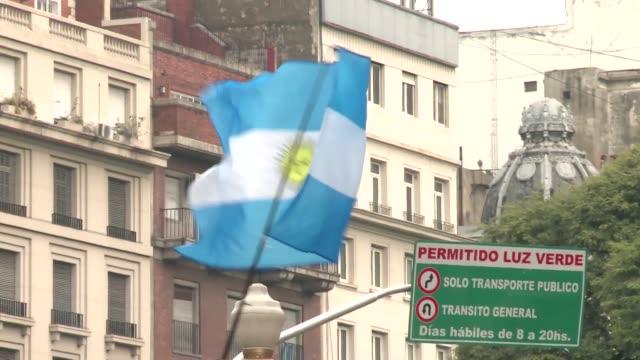 flag of argentina - informationsskylt bildbanksvideor och videomaterial från bakom kulisserna