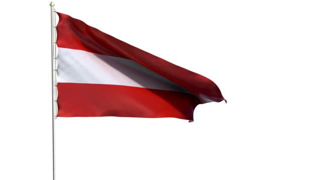 国旗のオーストリア