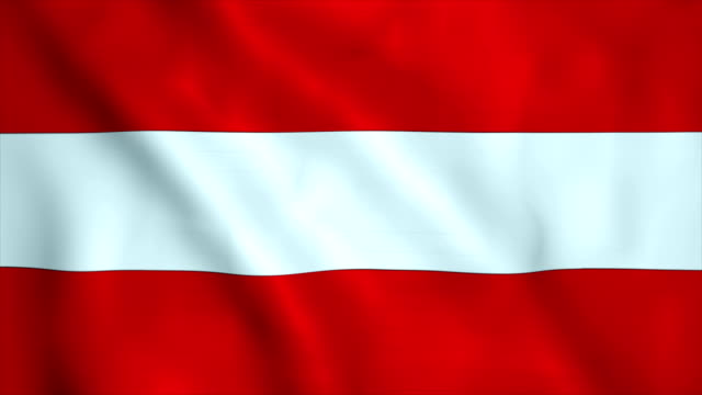 flag of austria - austria video stock e b–roll