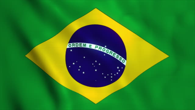 flag of brazil - flag stock videos & royalty-free footage