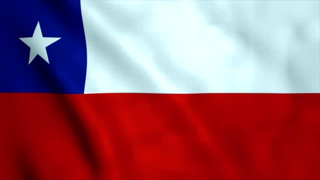 stockvideo's en b-roll-footage met vlag van chili - chile