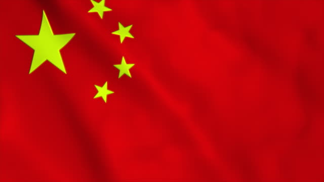 flag of china - chinese flag stock videos & royalty-free footage