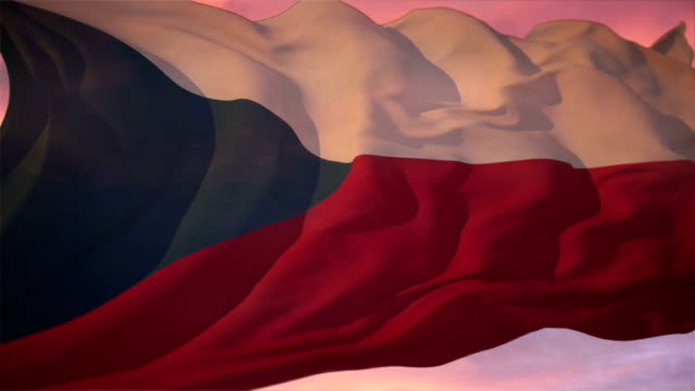 flag of czech republic - traditionally czech stock videos & royalty-free footage