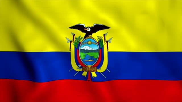 stockvideo's en b-roll-footage met vlag van ecuador - ecuador