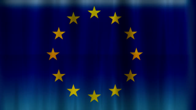 flag of europe - treaty stock videos and b-roll footage