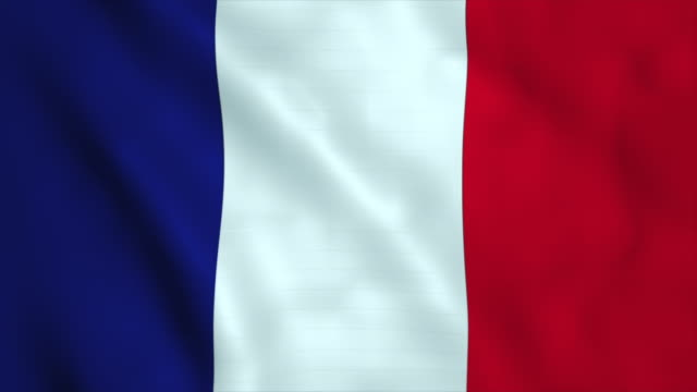 flag of france - french flag stock videos & royalty-free footage