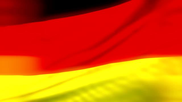 Flag of Germany Loopable Deutsch Flagge Flagge von Deutschland